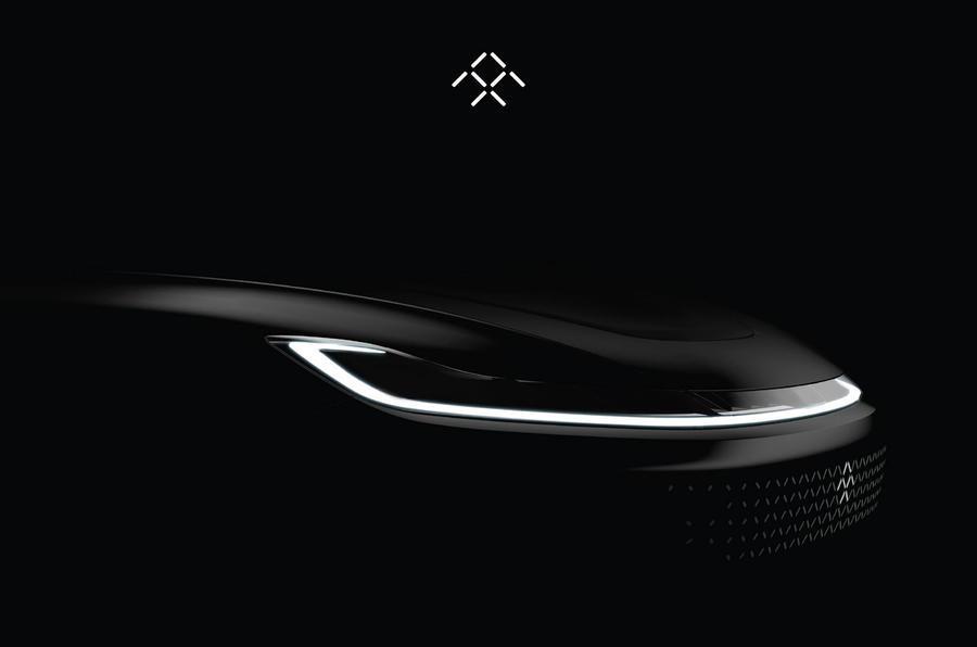 Faraday Future teases production SUV