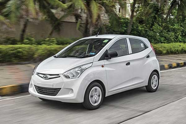 Refreshed Hyundai Eon in the works