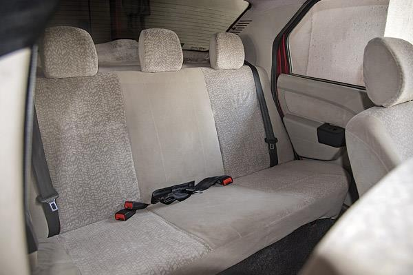 Spacious enough to seat three in comfort.