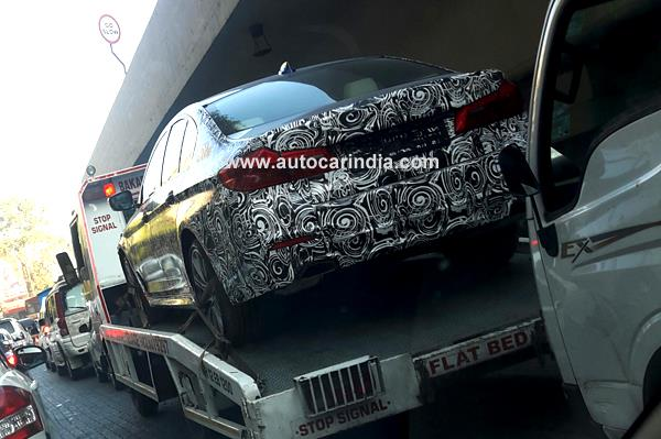 New 2017 BMW 5-series spied in India