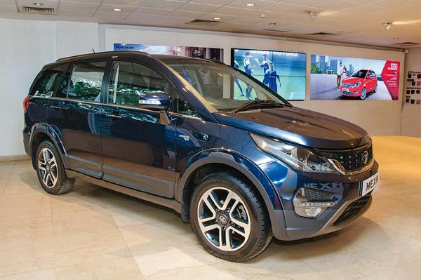 Tata Hexa launch today