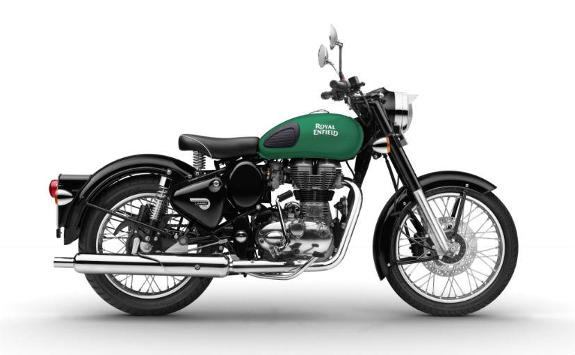 2017 Royal Enfield Classic 350 gets Redditch-themed paint job