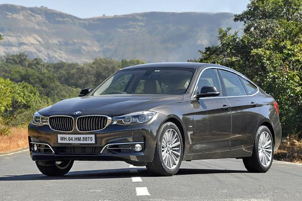 2016 BMW 3-series GT.