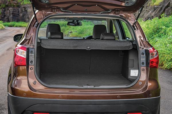 Spacious boot is well-designed, and loading and unloading is anything but cumbersome.