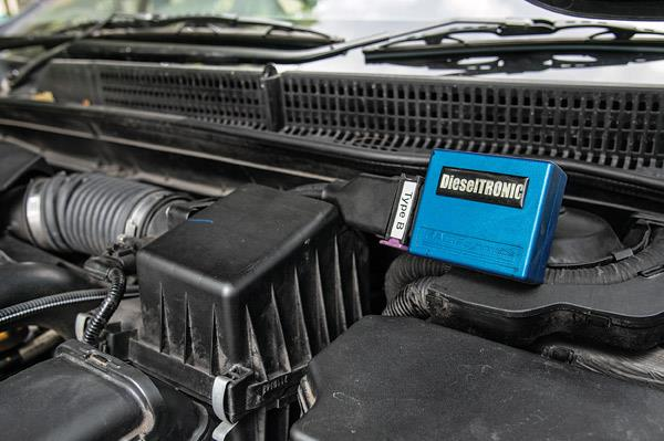 RaceDynamics dual-channel ECU controls the fuel and boost pressure.