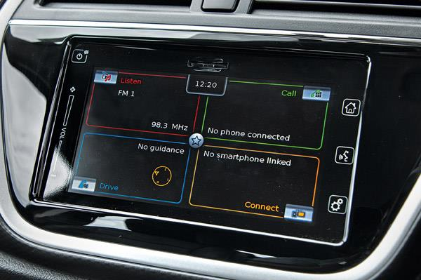 Infotainment system with voice commands was simply brilliant.