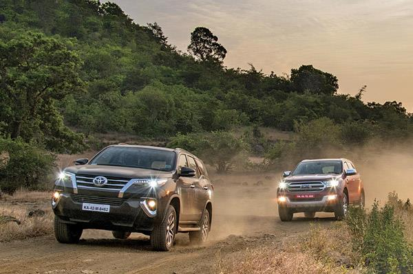 New Toyota Fortuner vs Ford Endeavour comparison