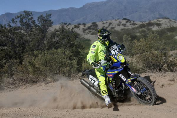 The true Dakar test begins: challenging day for Indian contingent