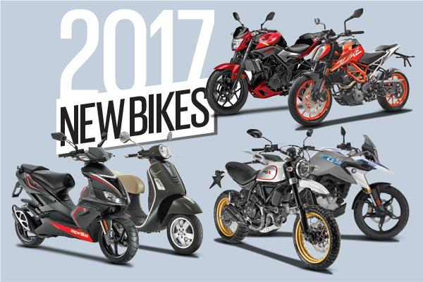 Upcoming new bikes for 2017