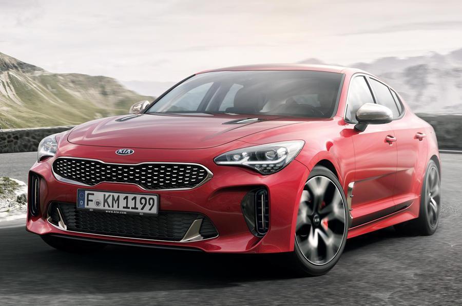 Kia Stinger sports sedan revealed