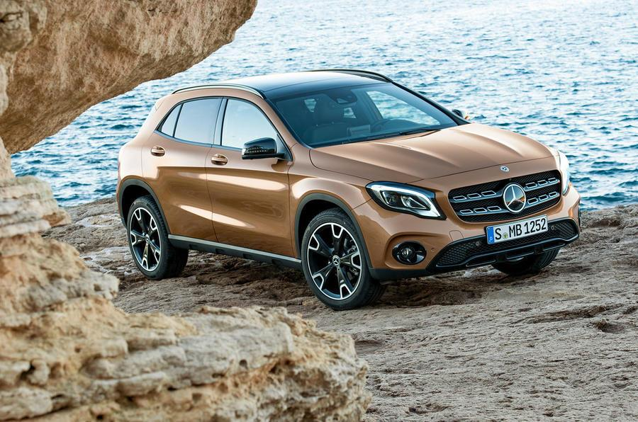 India-bound 2017 Mercedes GLA revealed