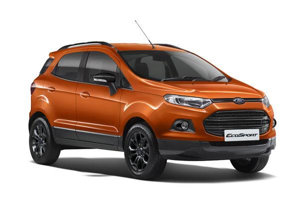 Touchscreen-equipped Ford EcoSport priced from Rs 9.89 lakh