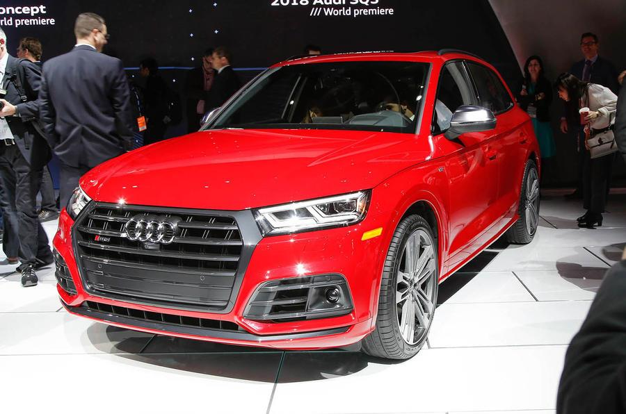 2017 Audi SQ5 breaks cover at Detroit