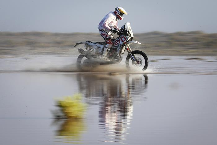 Solid day's work for Indian contingent at Dakar