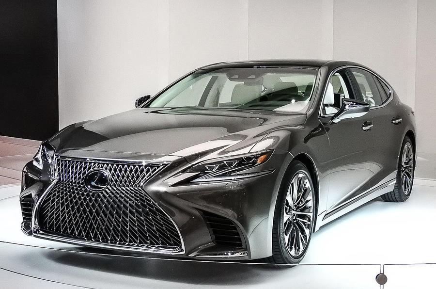 Next-gen Lexus LS 500 sedan revealed