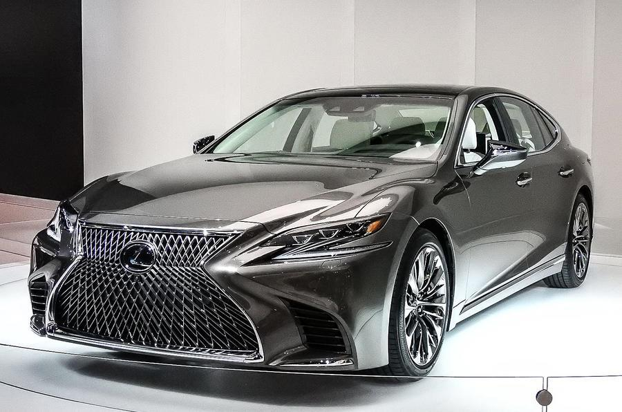 Next-gen Lexus LS 500 sedan revealed