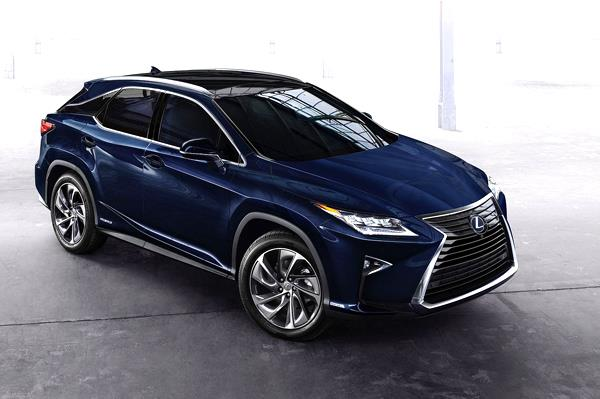 Seven-seat Lexus RX SUV in the works