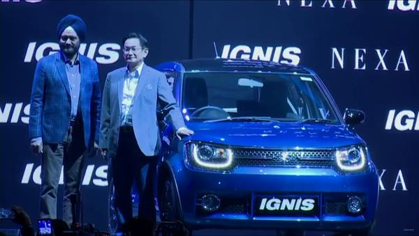 Maruti Ignis launched in India; priced at Rs 4.59 lakh