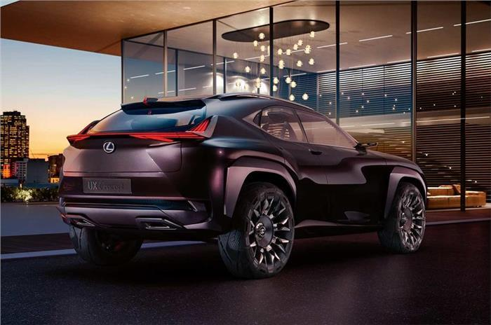 Lexus UX SUV in the works