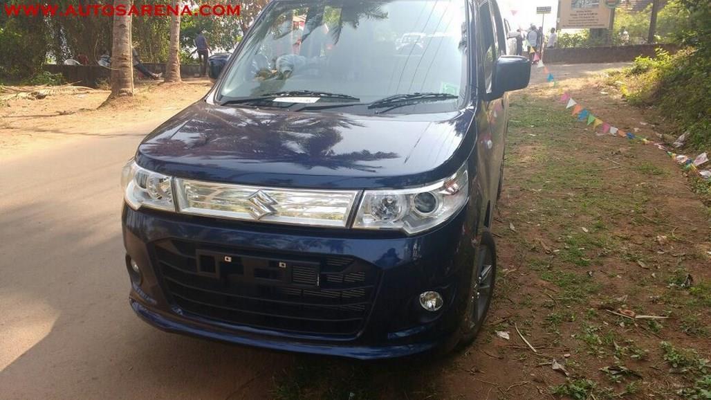 2017 Maruti WagonR Refresh leaked
