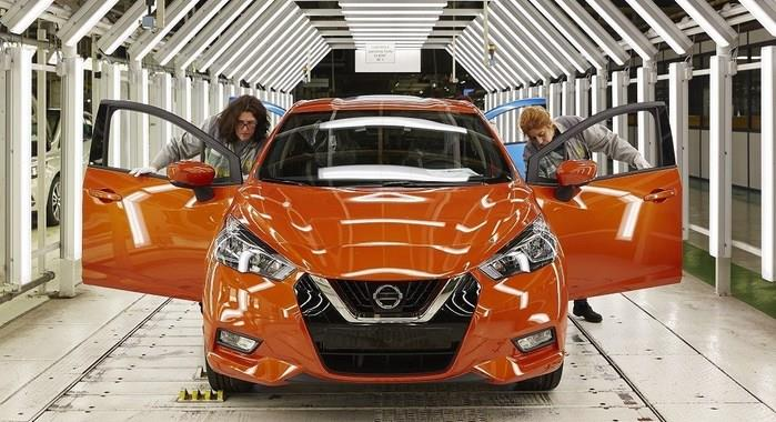 Fifth-gen Nissan Micra begins production