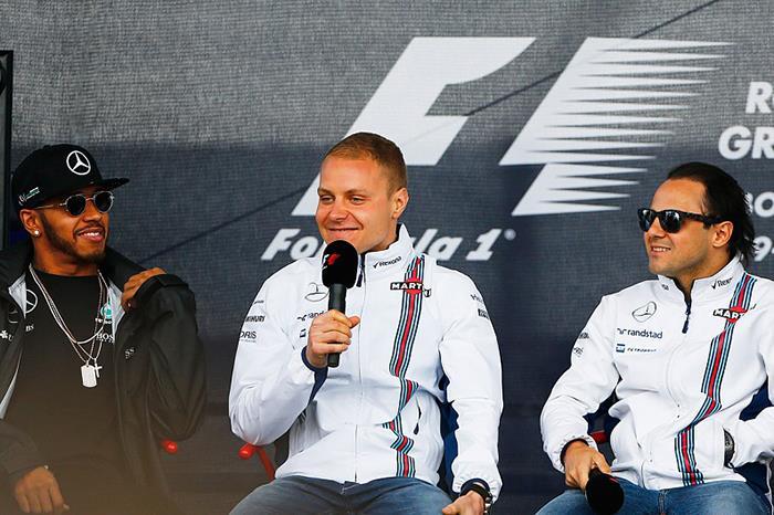 Bottas joins Mercedes for F1 2017, Massa returns to Williams