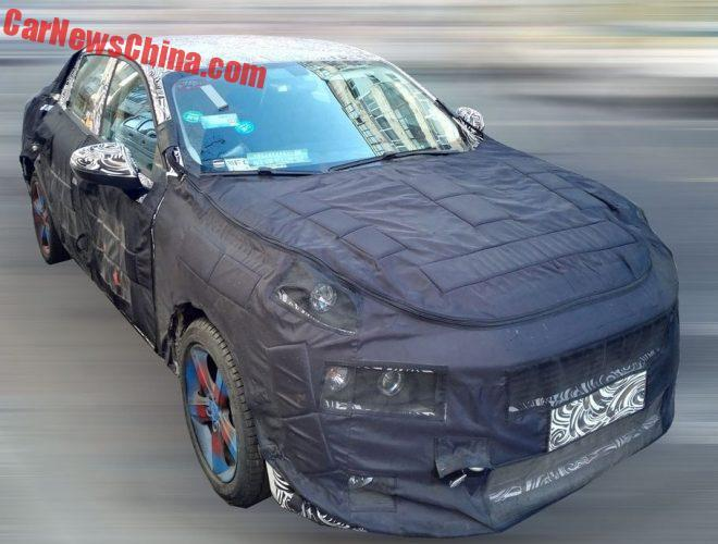 All-new Lynk & Co sedan takes shape
