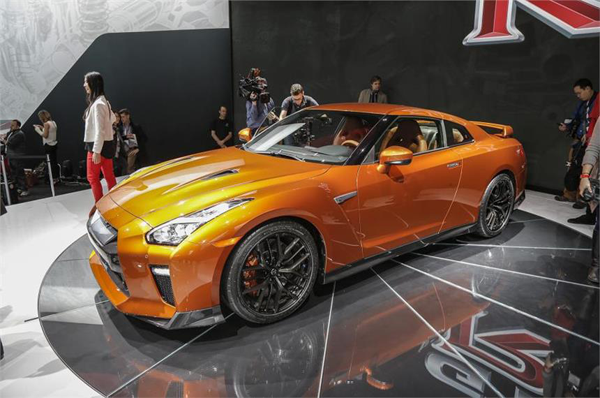 2017 Nissan GT-R to be showcased at Autocar Performance Show