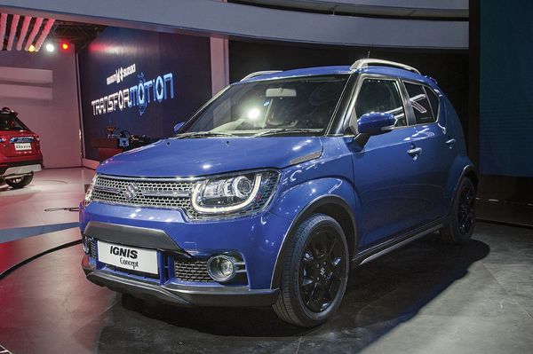 Maruti Ignis to be showcased at the Autocar Performance Show