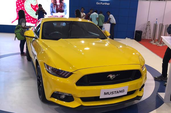 Ford Mustang showcased at Autocar Performance show 2017