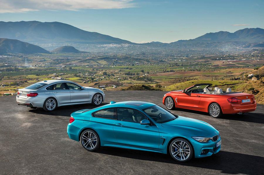 BMW 4-series facelift revealed