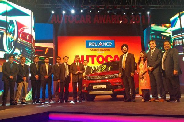 Maruti Vitara Brezza, TVS Apache RTR 200 win big at Autocar India Awards 2017
