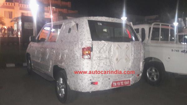 Mahindra TUV long wheelbase expected to get a 1.99-litre diesel engine