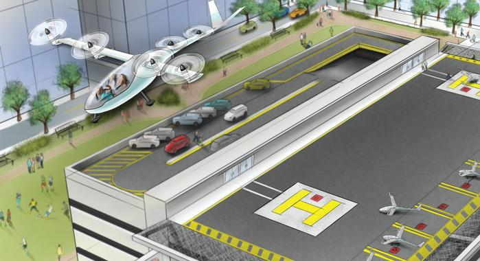 Airbus working on flying car prototype