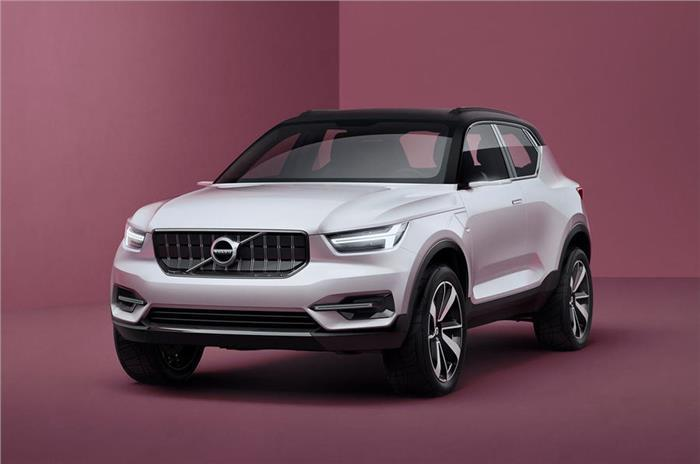 All-new Volvo XC40 to debut in April