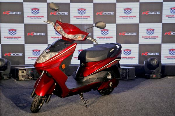 Okinawa Ridge electric scooter launched