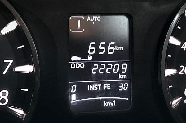 Good mileage means it does a fair distance on a tank of diesel.