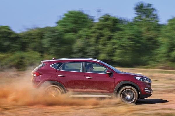 Hyundai Tucson review, road test
