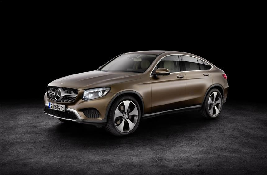 Mercedes GLC Coupe India launch this year