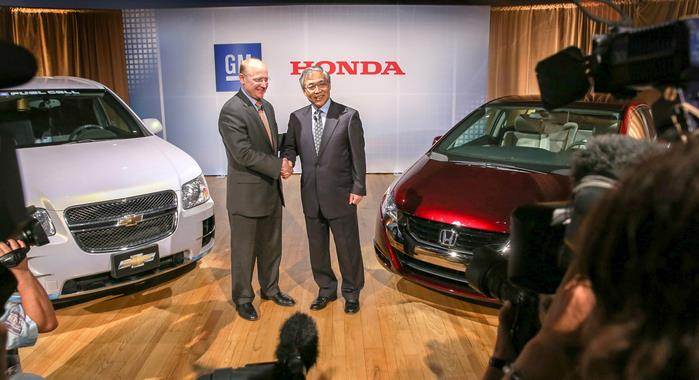 Honda, GM to develop hydrogen fuel cell technology