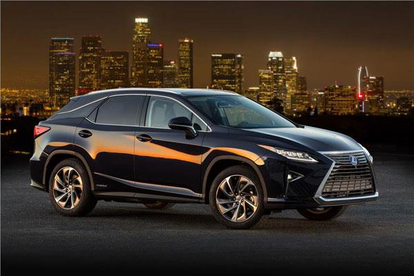 Lexus RX450h India launch in March 2017