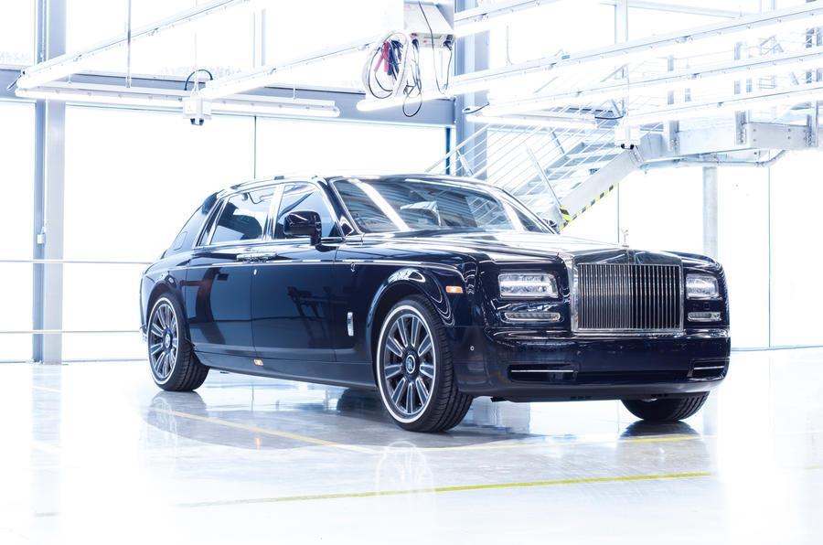 Last Rolls-Royce Phantom VII produced as one-off special