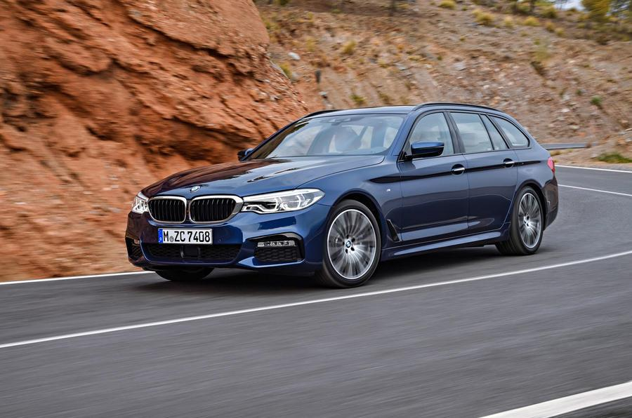 2017 BMW 5-series Touring revealed