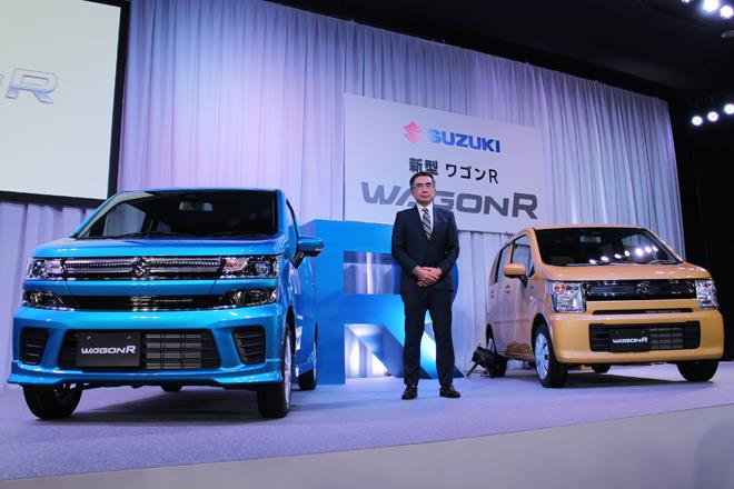 All-new 2017 Suzuki WagonR, Stingray revealed