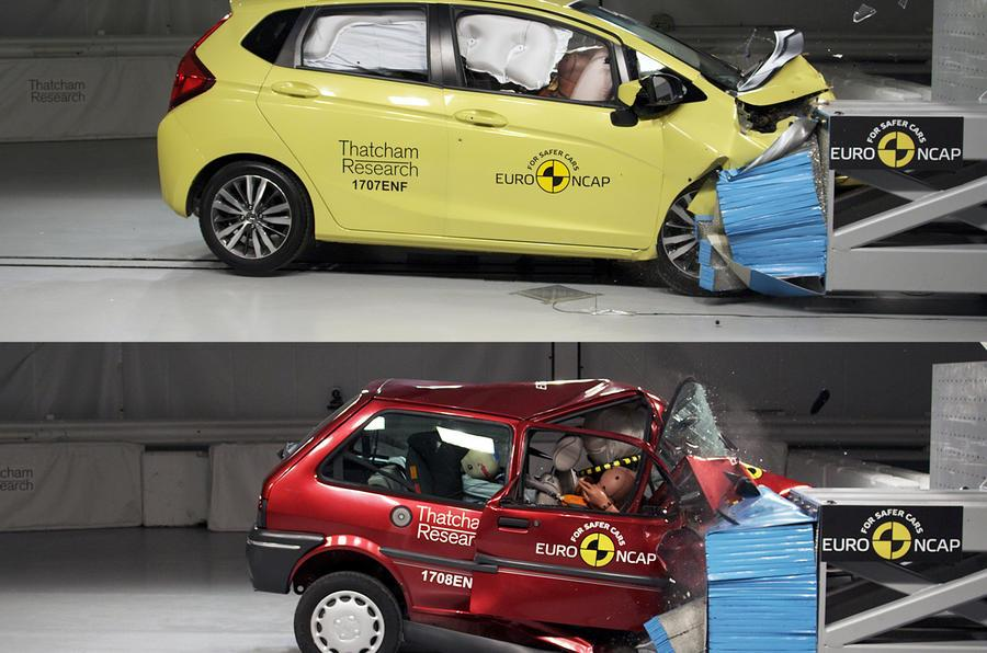 Euro NCAP commemorates 20 years of crash testing