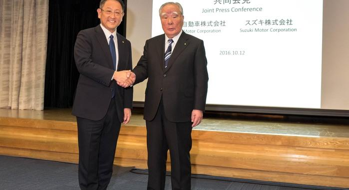 Toyota, Suzuki confirm business collaboration