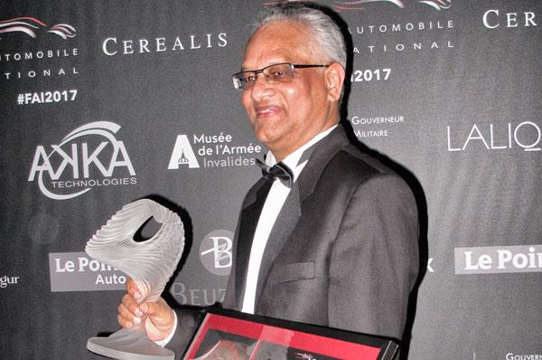 Gautam Sen's book on Italian designer Gandini wins global award