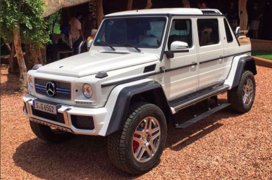 Mercedes-Maybach G65 4x4² Landaulet leaked ahead of Geneva debut