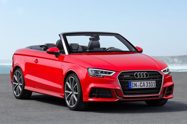 2017 Audi A3 Cabriolet facelift launched at Rs 47.98 lakh