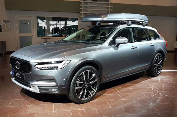 Volvo V90 Cross Country to launch in India by mid-2017
